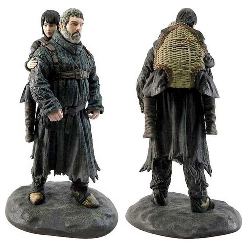 Hodor e Bran Stark - Estátua Game of Thrones - Dark Horse 4