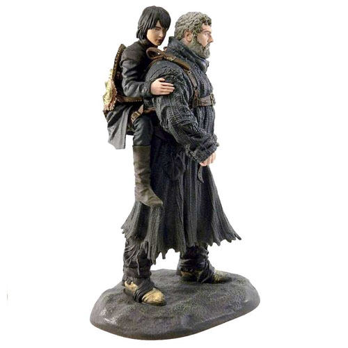 Hodor e Bran Stark - Estátua Game of Thrones - Dark Horse 2