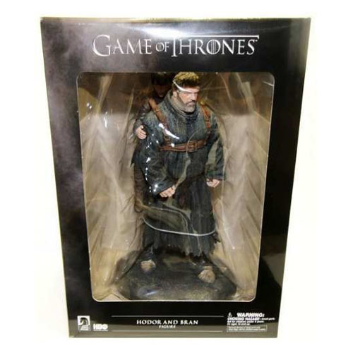 Hodor e Bran Stark - Estátua Game of Thrones - Dark Horse 5