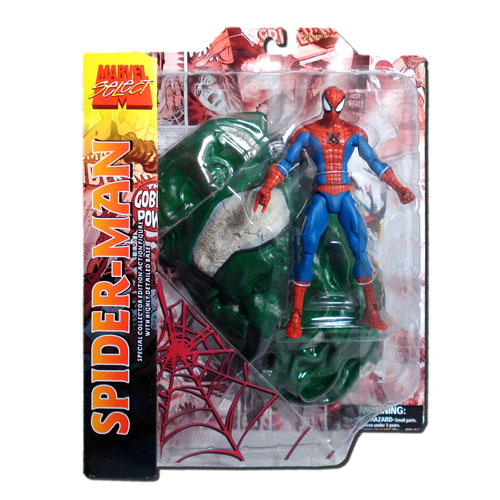 Homem-Aranha / Spider-Man - Action Figure Marvel Select 3