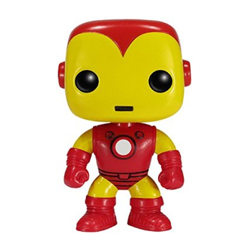 Homem de Ferro / Iron Man Clássico - Funko Pop Marvel Universe Avengers 2