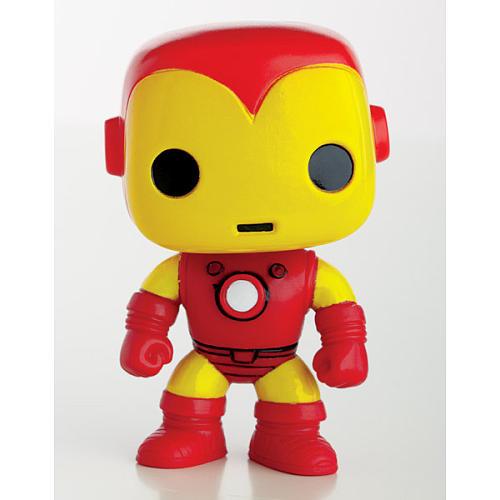 Homem de Ferro / Iron Man Clássico - Funko Pop Marvel Universe Avengers 3