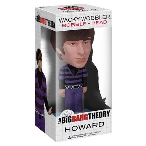 Howard - The Big Bang Theory Bobblehead - Funko Wacky Wobbler 3