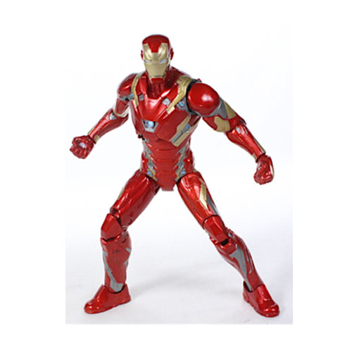Iron Man / Homem de Ferro Mark 46 - Action Figure Marvel Select Captain America Civil War 3