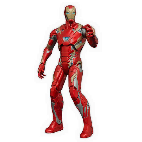 Iron Man / Homem de Ferro Mark 46 - Action Figure Marvel Select Captain America Civil War 2