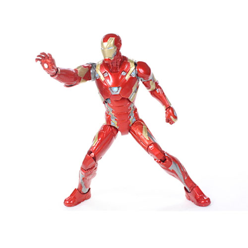 Iron Man / Homem de Ferro Mark 46 - Action Figure Marvel Select Captain America Civil War 4