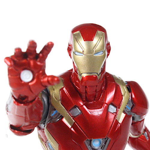 Iron Man / Homem de Ferro Mark 46 - Action Figure Marvel Select Captain America Civil War 5