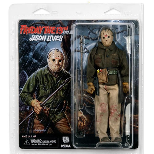 Jason Voorhees - Action Figure Sexta-Feira 13 - Friday The 13th VI - Jason Lives 4