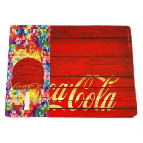 Jogo Americano Coca-Cola Wood (Set com 2) 5