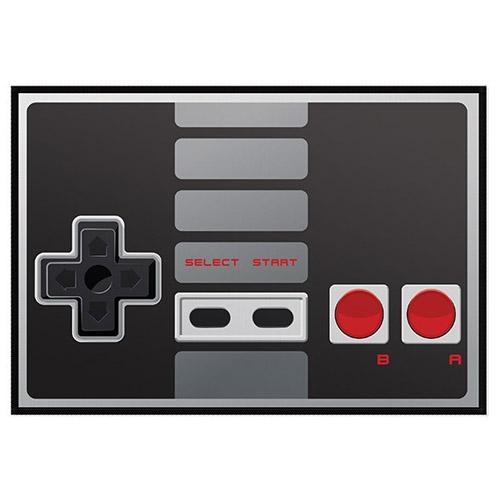 Jogo Americano Gamer Joystick NES Retrô Preto 2