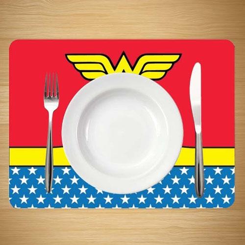 Jogo Americano Mulher-Maravilha / Wonder Woman (Set com 4) - DC Comics 3