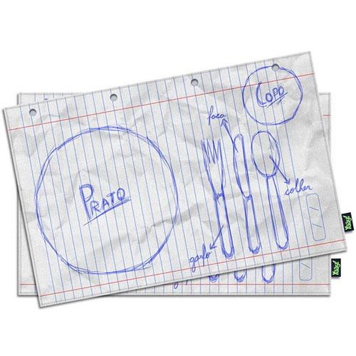 Jogo Americano - Rascunho Geek no Papel