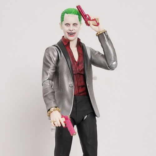 Joker / Coringa - Action Figure Suicide Squad - Bandai SH Figuarts 3