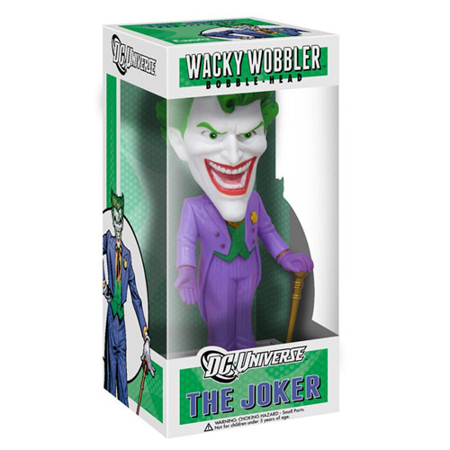 Joker / Coringa - Bobble Head DC Comics Universe - Wacky Wobbler 3