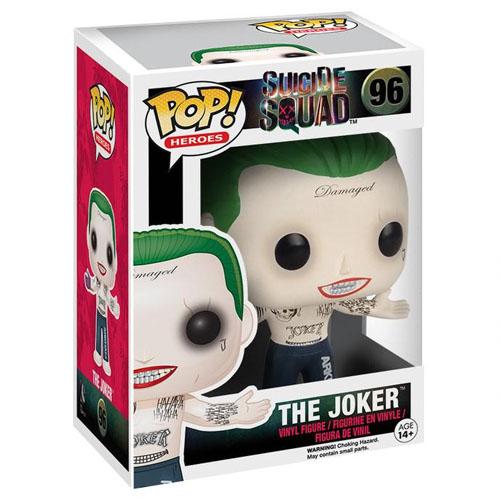 Joker / Coringa  - Funko Pop Suicide Squad / Esquadrão Suicida - DC Comics 4