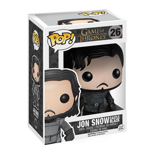 Jon Snow (Castle Black) - Funko Pop Game of Thrones 3