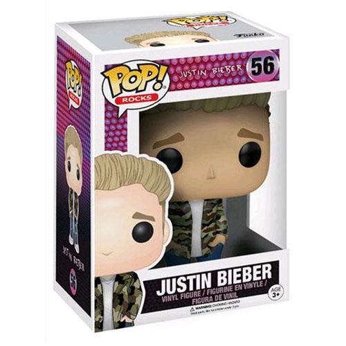 Justin Bieber - Funko Pop Rocks Justin Bieber 3