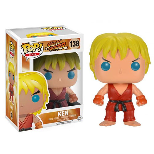 Ken - Funko Pop Street Fighter