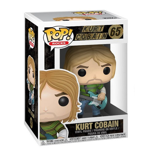 Kurt Cobain - Funko Pop Rocks Nirvana 3