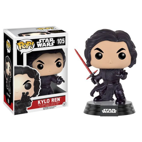 Kylo Ren Unmasked / Sem Máscara - Funko Pop Star Wars The Force Awakens