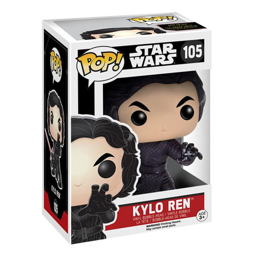 Kylo Ren Unmasked / Sem Máscara - Funko Pop Star Wars The Force Awakens 3