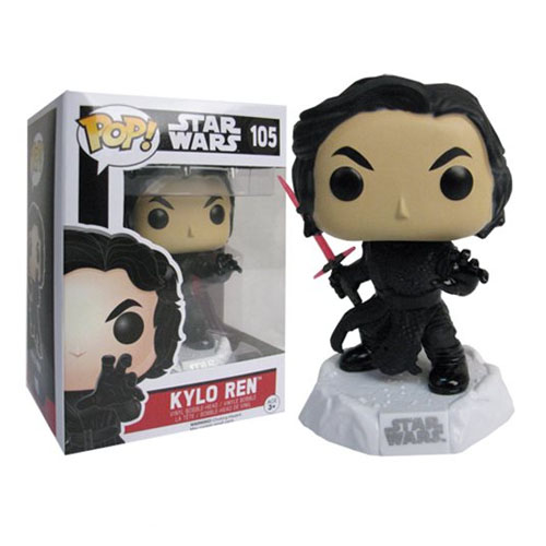 Kylo Ren Unmasked / Sem Máscara - Funko Pop Star Wars The Force Awakens 4