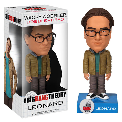 Leonard - The Big Bang Theory Bobblehead - Funko Wacky Wobbler