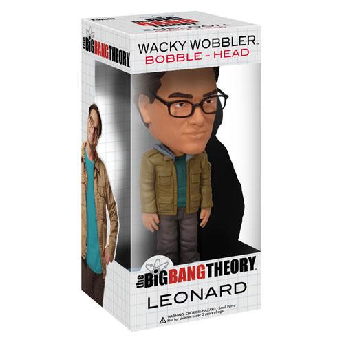 Leonard - The Big Bang Theory Bobblehead - Funko Wacky Wobbler 3