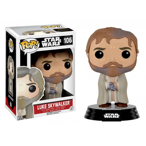 Luke Skywalker (Mestre / Jedi Master) - Funko Pop Star Wars The Force Awakens