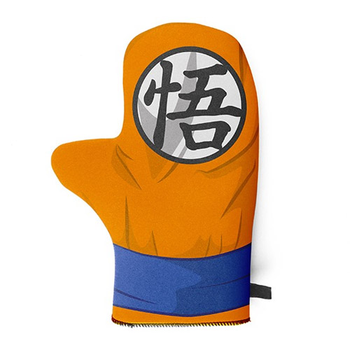 Luva de Cozinha Sayajin - Dragon Ball