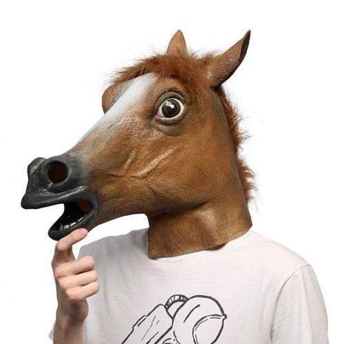 Máscara Cabeça de Cavalo 3