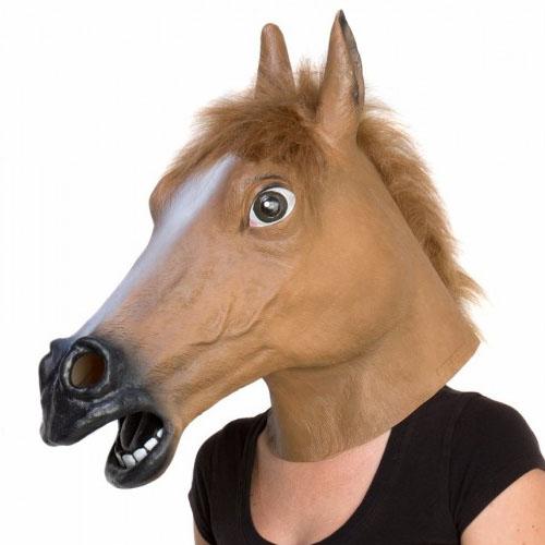 Máscara Cabeça de Cavalo 4
