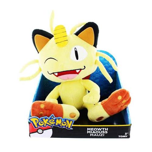 Meowth - Pelúcia Gato Pokemon TOMY 2