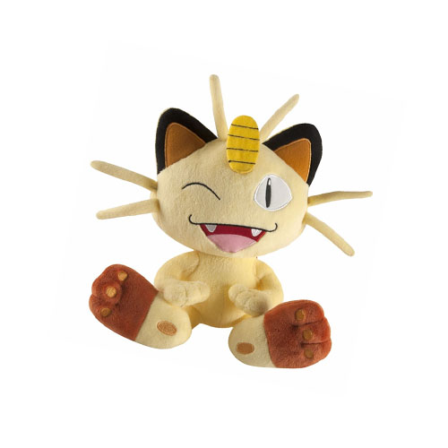 Meowth - Pelúcia Gato Pokemon TOMY 3