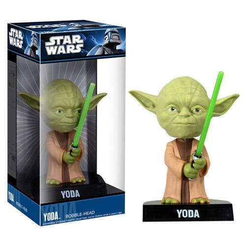 Mestre Yoda - Bobble Head Star Wars - Funko Wacky Wobbler