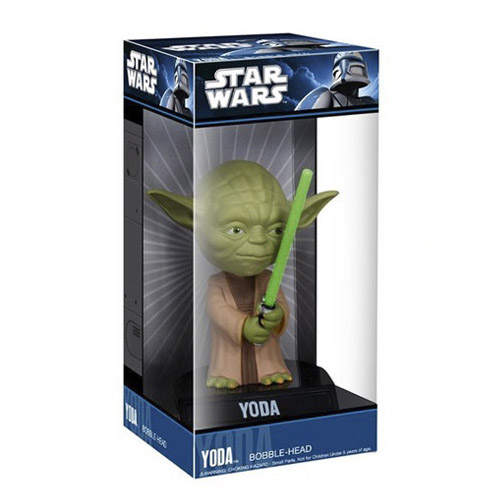 Mestre Yoda - Bobble Head Star Wars - Funko Wacky Wobbler 3