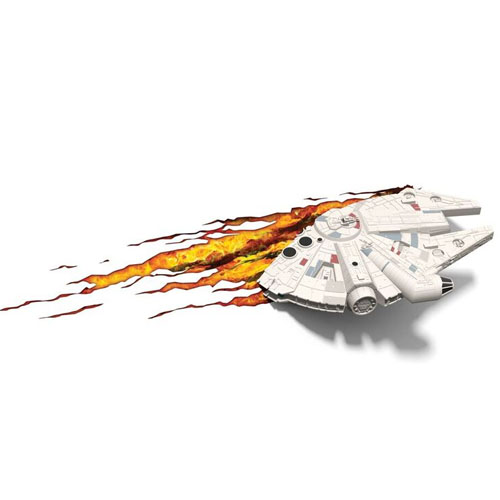 Millennium Falcon - Luminária 3D Light FX Star Wars 4