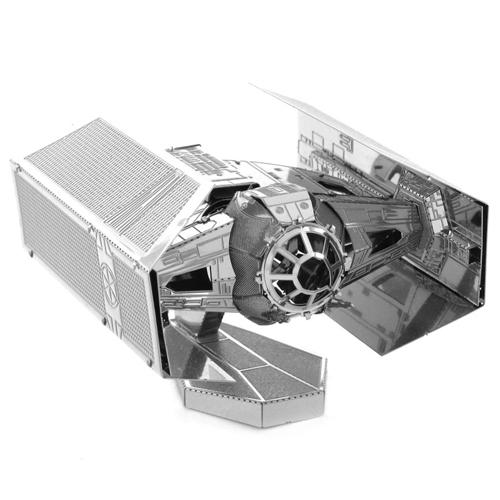 TIE Fighter do Darth Vader - Miniatura para Montar Metal Earth - Star Wars 3