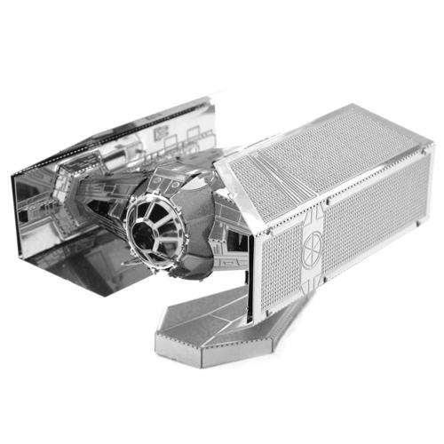 TIE Fighter do Darth Vader - Miniatura para Montar Metal Earth - Star Wars 2