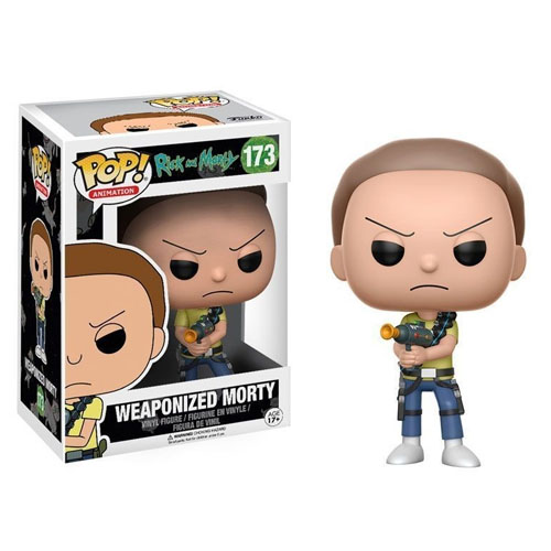 Morty Weaponized / Armado - Funko Pop Rick and Morty
