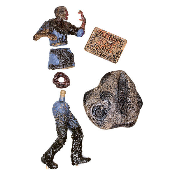 Mud Walker / Zumbi na Lama - Action Figure The Walking Dead - McFarlane Toys 2