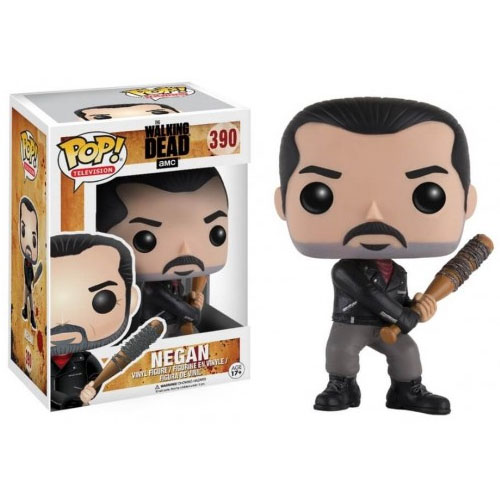 Negan e Lucille - Funko Pop The Walking Dead