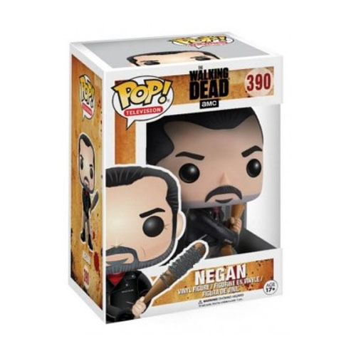 Negan e Lucille - Funko Pop The Walking Dead 3