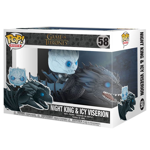 Night King & Icy Viserion - Funko Pop Game of Thrones Rides 3