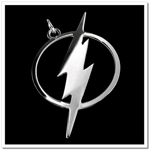 Pingente The Flash - Folheado a Prata