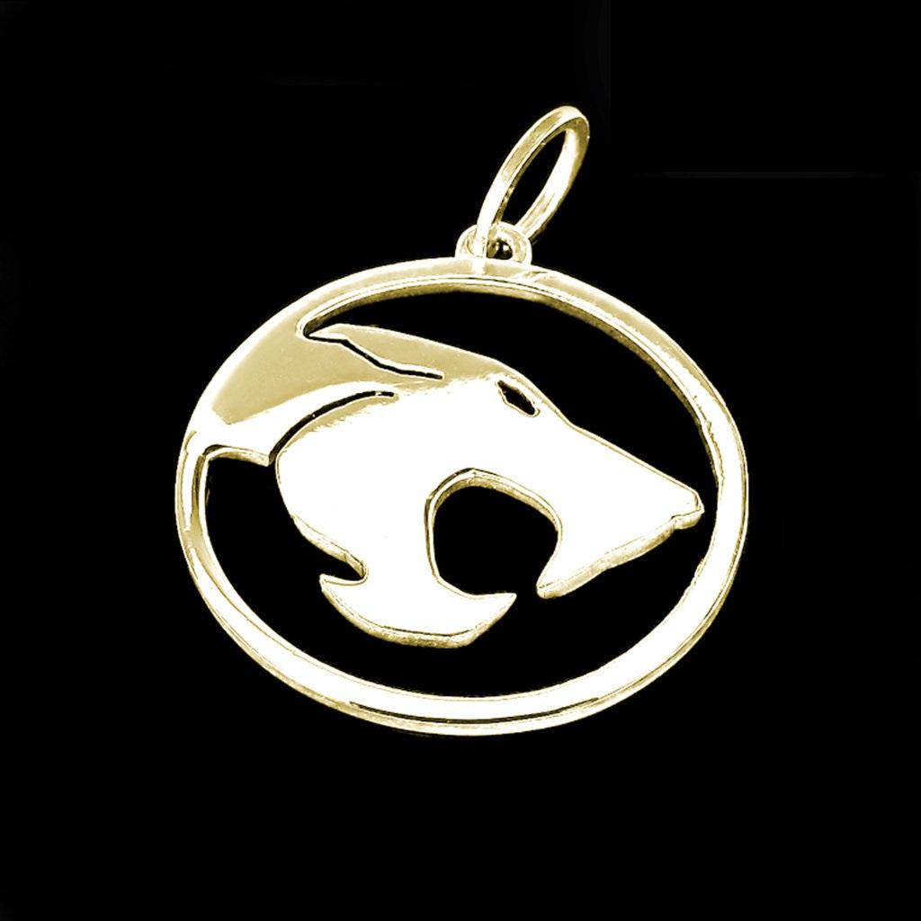 Pingente - Thundercats - Folheado a Ouro
