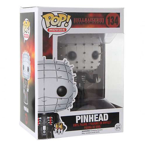 Pinhead - Funko Pop Movies Hellraiser - Renascido do Inferno 3