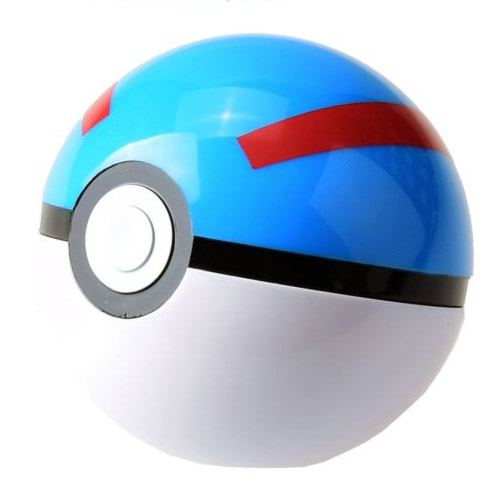 Pokebola / Great Ball com Pikachu - Pokemon 2