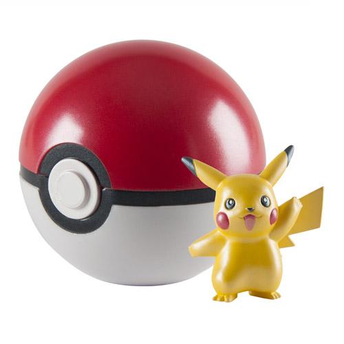 Pokebola / PokeBall com Pikachu - Pokemon Edição Limitada 20 Anos 2