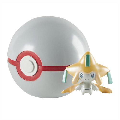Pokebola / Premier Ball com Jirachi - Pokemon Edição Limitada 20 Anos 2